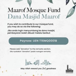 Maarof Mosque Fund