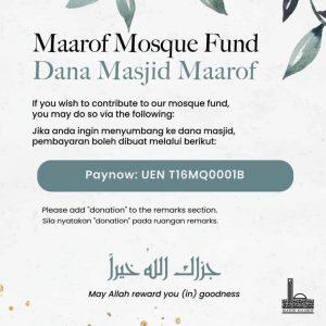Maarof Mosque Fund